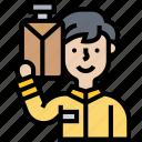 bellboy, doorman, reception, service, hotel