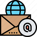 email, letter, message, communication, online