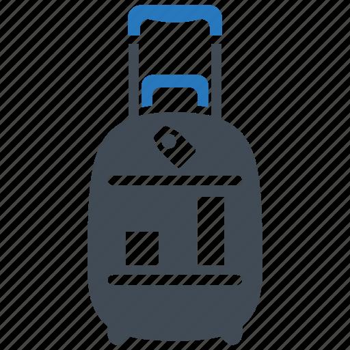 bag, baggage, holiday, luggage, travel, vacation icon