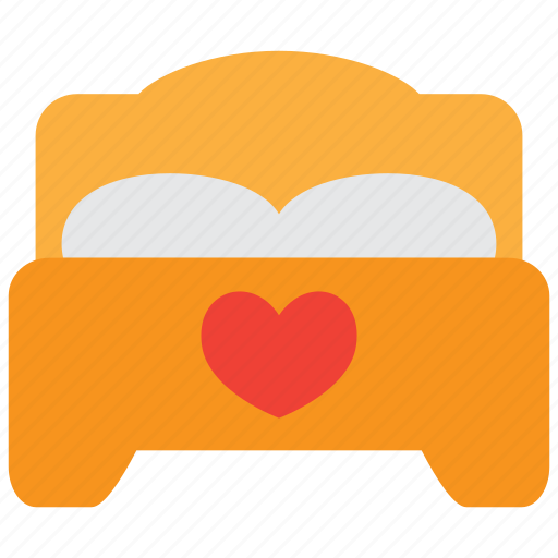 bed, bedroom, couple, furniture, love, sleep, sleeping icon