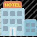 hotel, building, restaurant, room, vacation, travel