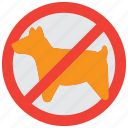 allowed, animal, forbidden, pet, pets, prohibited, sign icon