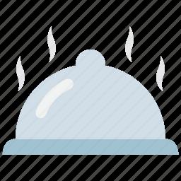 dinner, food, kitchen, meal, platter, restaurant, serving icon