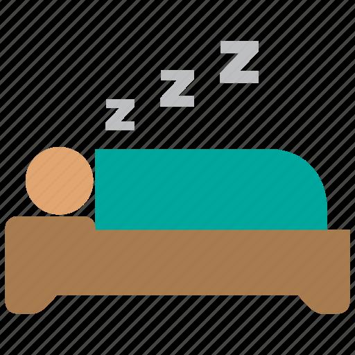bed, bedroom, furniture, hotel, interior, sleep, sleeping icon
