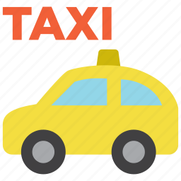 auto, cab, car, taxi, transport, travel, vehicle icon