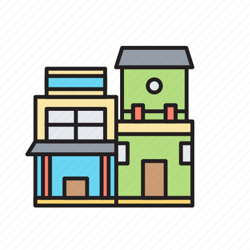 Building, estate, home, house, property, real estate icon - Download on Iconfinder