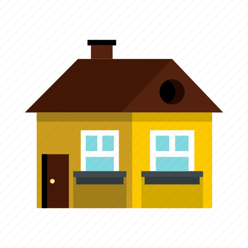 architecture, estate, exterior, home, house, real, residential icon