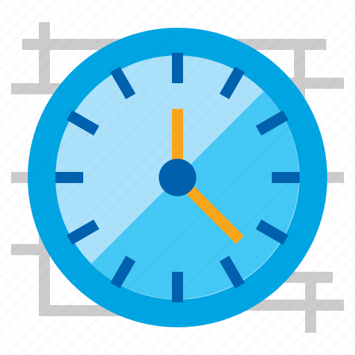 Clock, timepiece, wall, watch icon - Download on Iconfinder
