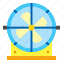 air, cooler, fan, furniture icon