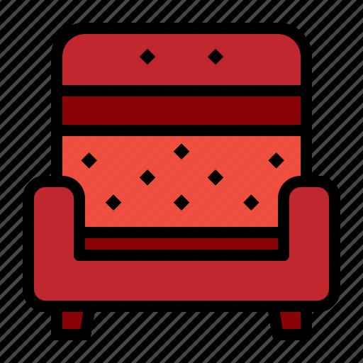 armchair, easychair, furniture, sofa icon