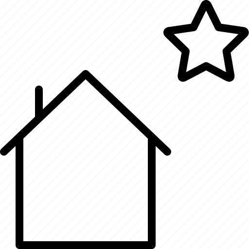 Building, favorite, home, house, star icon - Download on Iconfinder