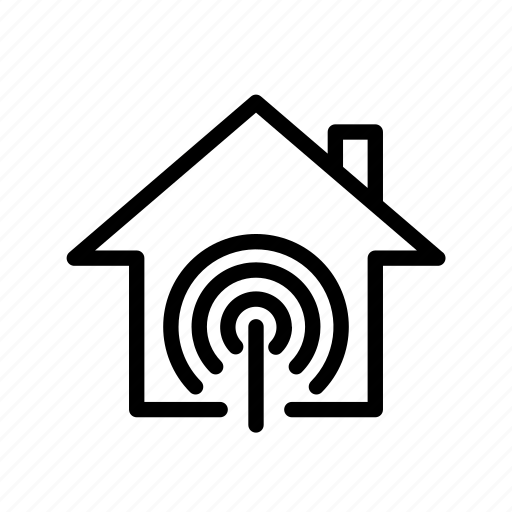 home, internet, ui, wifi icon