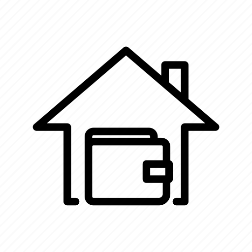 buy, home, sell, shop, ui, wallet icon
