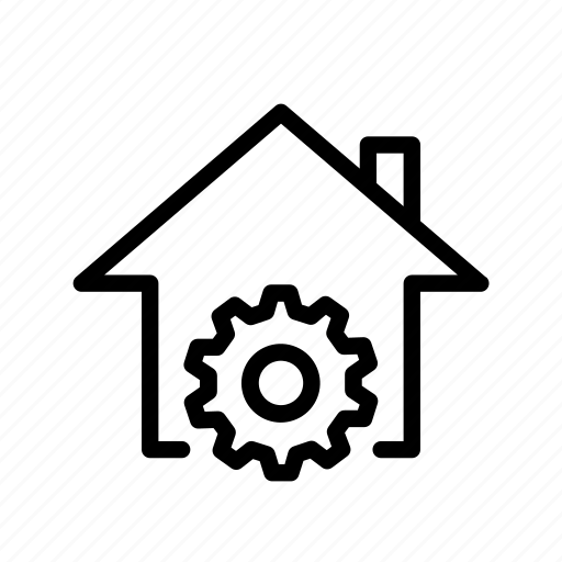 home, preferences, settings, ui icon