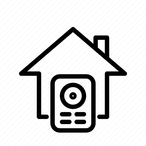 home, house security system, intercom, security, ui icon