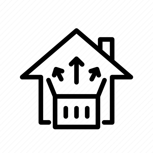 home, move in, ui icon