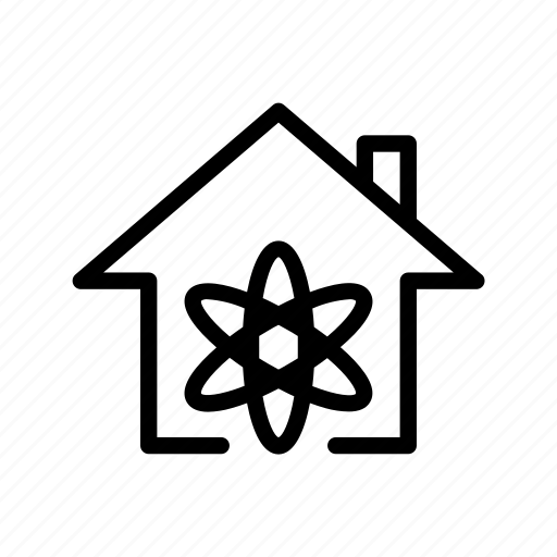 home, science, ui icon