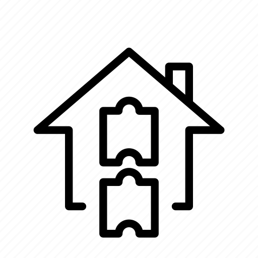 figure out, home, puzzle, ui icon