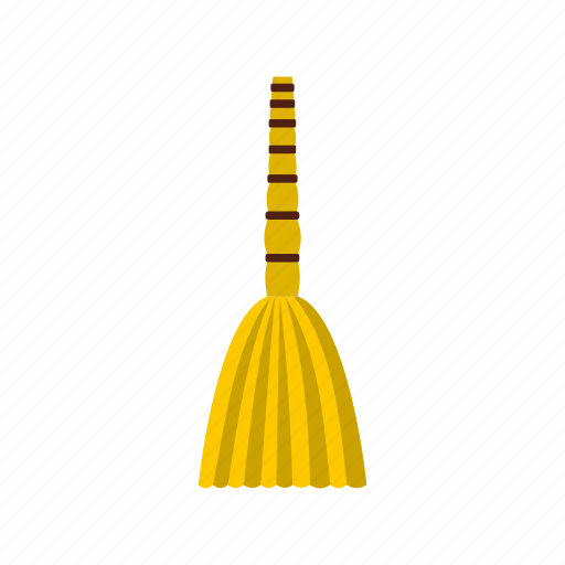 besom, clean, floor, handle, house, household, sweeping icon
