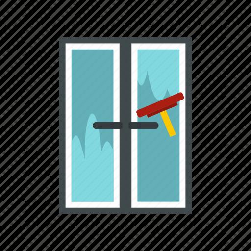 brush, glass, home, wash, washes, window, work icon