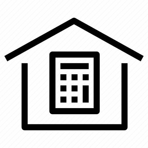 bills, budget, costs, expenses, house, property, taxes icon