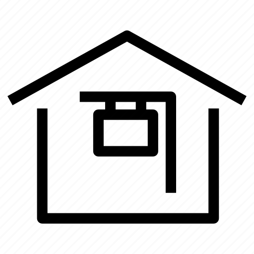 auction, foreclosure, home, house, property, public, selling icon