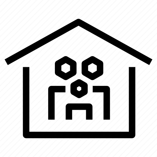 family, home, house, household, owners, property, tenants icon