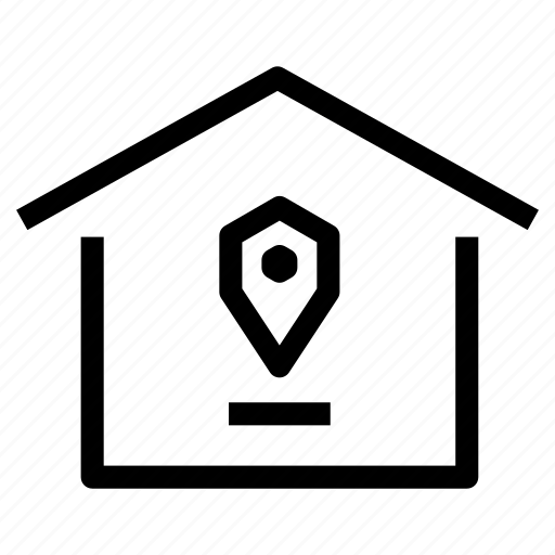 home, house, location, market, property, real estate, selection icon