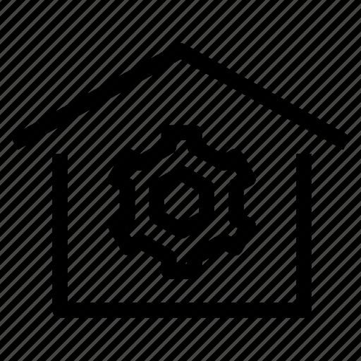 home, house, maintenance, management, market, property, refurbish icon
