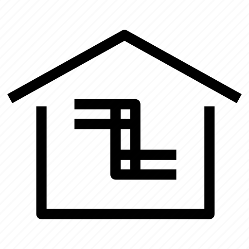 drainage, home, house, pipes, piping, plumbing, property icon