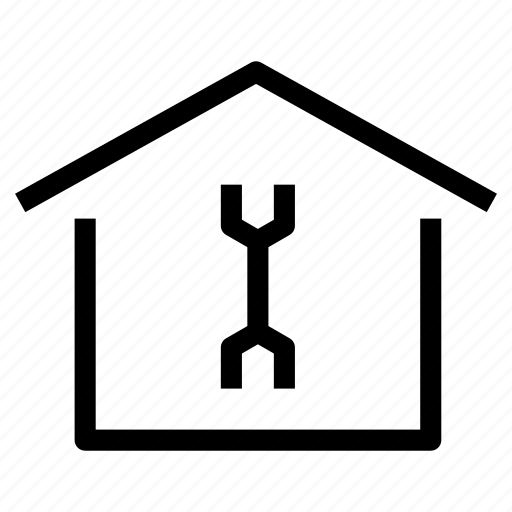 fix, house, maintenance, property, refurbish, remodeling, repair icon