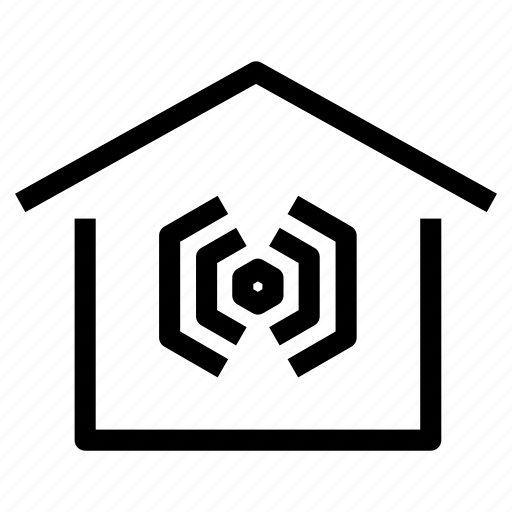 home, house, insulation, signal, sound, soundproof, soundproofing icon