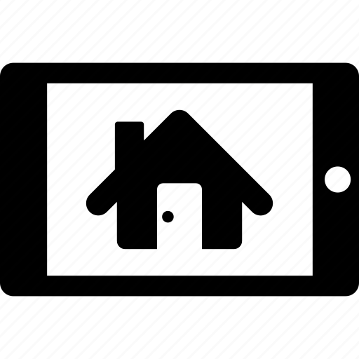 estate, home, house, mobile, real, rent, tablet icon