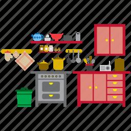 accessory, equipment, furniture, home, kitchen, kitchenware, utensil icon