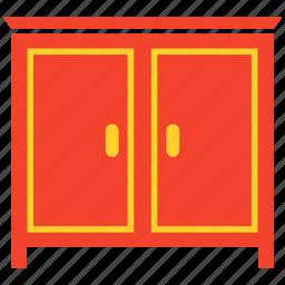 cupboard, drawer, furniture, wardrobe icon