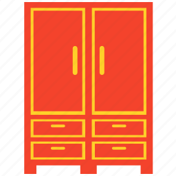 armoire, cabinet, closet, wardrobe icon
