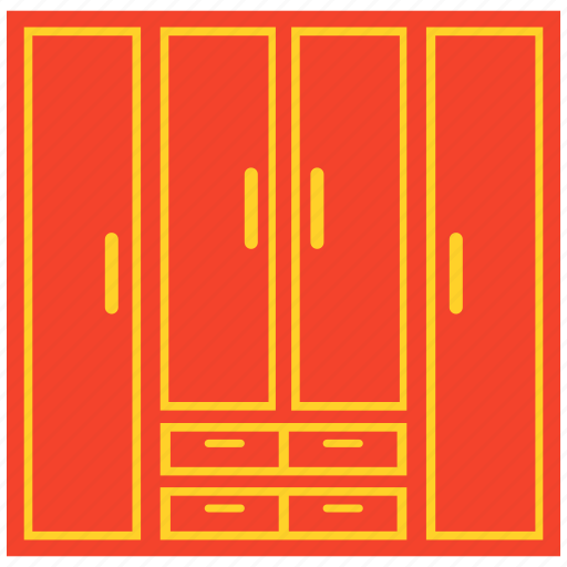 armoire, cabinet, closet, wardrobe icon