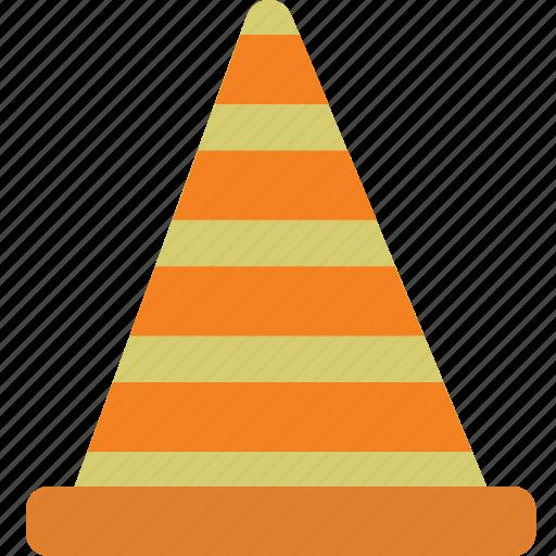 cone, construction, design, equipment, tools icon