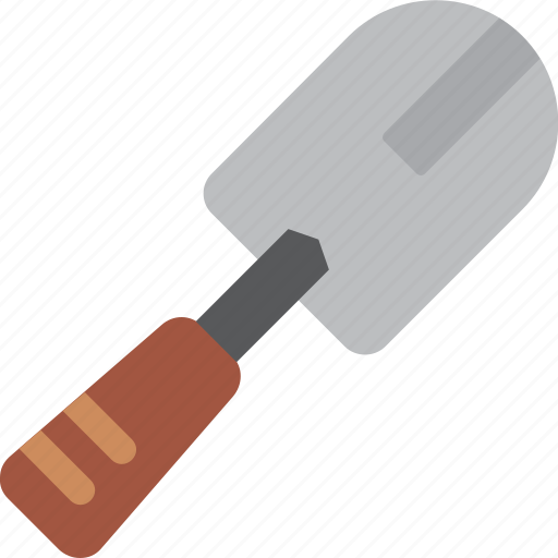 construction, equipment, shovel, small, tool, tools icon