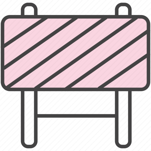 Barrier, caution, fence icon - Download on Iconfinder
