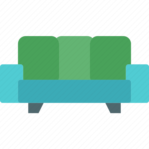 couch, rest, seat, sleep icon