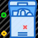 deposit, fullbox icon