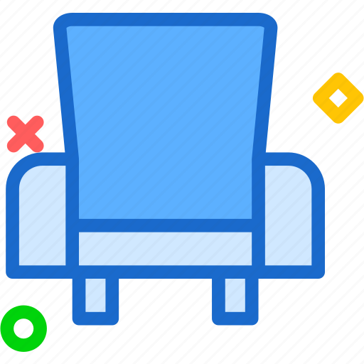 arm, chair, rest, seat icon