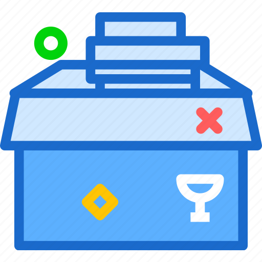 book, delivery, household, read icon