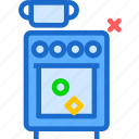 classic, food, kitchen, old, oven, prepare icon