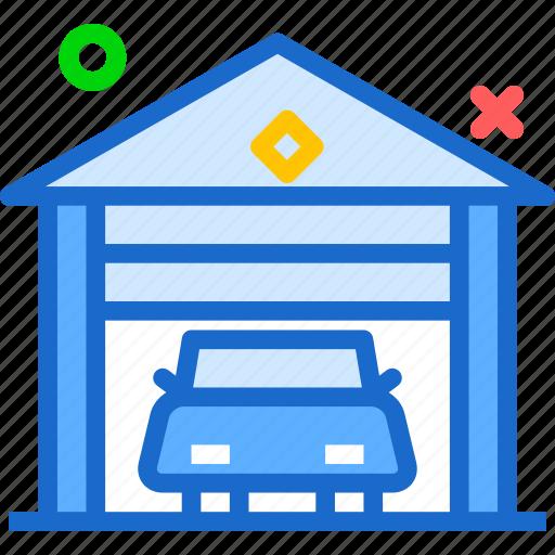 car, engine, garage, moto icon