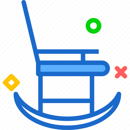 chair, grandma, rest, seat icon