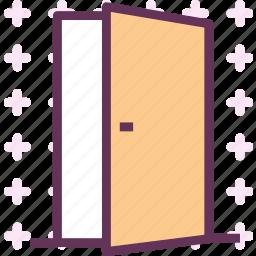 door, entrance, exit icon