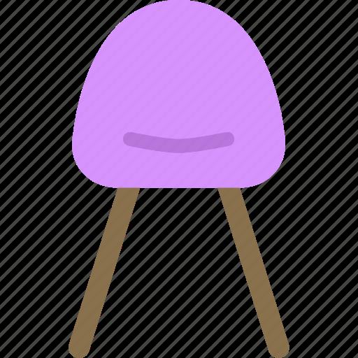 chair, modern, rest, seat icon