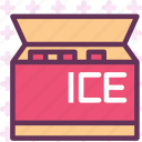 cold, fridge, icecream icon